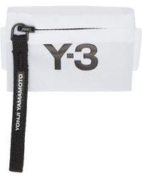 Y-3 - White Mini Wrist Pouch - Lyst