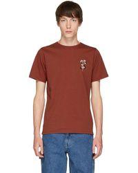 Saturdays NYC - Red Poppy T-shirt - Lyst