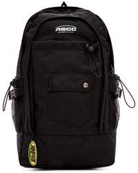 ADER error - Ssense Exclusive Black Ascc Regular Backpack - Lyst