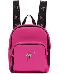 Giuseppe Zanotti - Pink Mini Backpack - Lyst