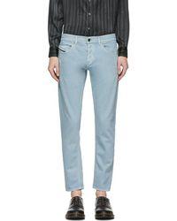 Diesel Black Gold - Blue Slim Jeans - Lyst
