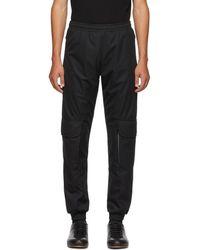 Cottweiler - Ssense Exclusive Black Nylon Cargo Trousers - Lyst