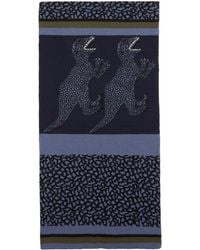 PS by Paul Smith - Navy Dino Scarf - Lyst