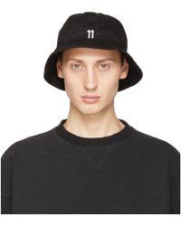 Boris Bidjan Saberi 11 - Black New Era Edition Explorer Hat - Lyst d5700a17aad9