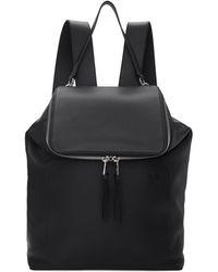 Loewe - Black Goya Backpack - Lyst