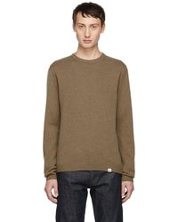 Norse Projects - Camel Sigfred Jumper - Lyst