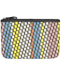 Pierre Hardy - Multicolor Large Cube Pouch - Lyst