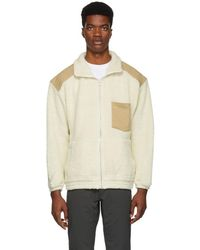 Nanamica - White Wool Pile Jacket - Lyst