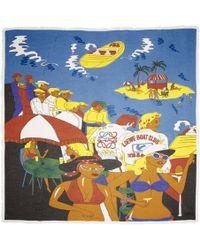 Loewe - Multicolor Holiday Scarf - Lyst