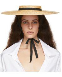 Jacquemus - Beige Le Chapeau Santon Beach Hat - Lyst