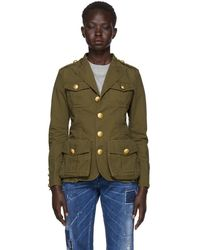 DSquared² - Short Militay Jacket - Lyst