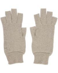 Rick Owens - Off-white Fingerless Gloves - Lyst