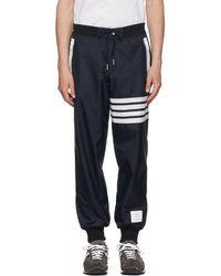 Thom Browne - Striped Detail Track Pants - Lyst