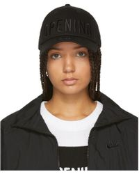 Opening Ceremony - Black New Era Edition Embroidered 49forty Cap - Lyst