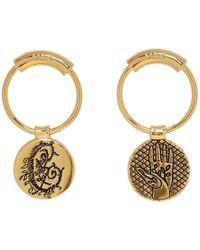 Chloé - Gold Emoji Earrings - Lyst