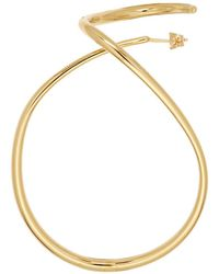 Sacai - Gold Charlotte Chesnais Edition Maxi Looping Earring - Lyst