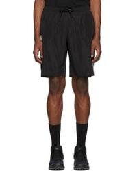 Marcelo Burlon - Black And Silver Muhammad Ali Edition Swim Shorts - Lyst