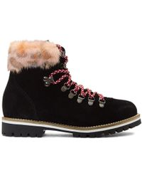 Mr & Mrs Italy - Black & Pink Pedule Boots - Lyst