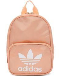 bd886e6f5b adidas Originals - Pink Mini Santiago Backpack - Lyst