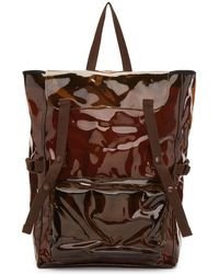 Raf Simons | Brown Eastpak Edition Volume Topload Backpack | Lyst