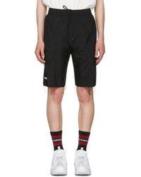 Vetements - Black Reebok Edition Biker Track Shorts - Lyst
