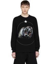 Givenchy - Black Monkey Brothers Sweatshirt - Lyst