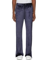 Versace - Navy Chenille Lounge Trousers - Lyst