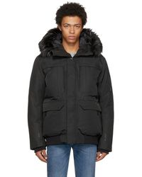 The North Face - Black Down Cryos Gtx Expedition Bomber Jacket - Lyst