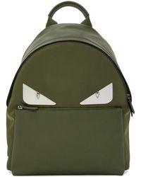 Fendi - Green 'bag Bugs' Backpack - Lyst
