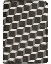 Pierre Hardy - Multicolor Canvas Cube Passport Holder - Lyst