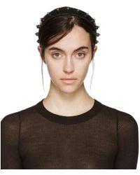 Fleet Ilya - Black Studded Liberty Headband - Lyst