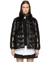 RED Valentino - Black Down A-line Jacket - Lyst