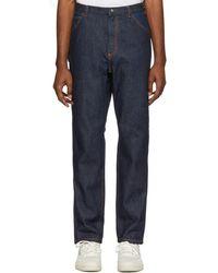 A.P.C. - Indigo Job Jeans - Lyst