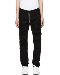 DSquared² - Black Ripped Wash Cool Guy Jeans - Lyst