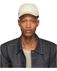 0f2bc88285cf Lyst - Moncler X Off White Baseball Hat in Black for Men