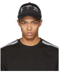 KTZ - Black New Era Edition Skeleton Logo Cap - Lyst