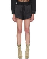 Off-White c/o Virgil Abloh - Black Cargo Pyjama Shorts - Lyst
