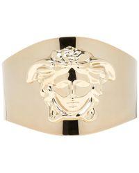 Versace - Gold Medusa Cuff Bracelet - Lyst