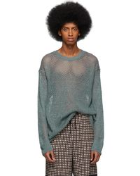 Dries Van Noten - Blue Neroli Sweater - Lyst