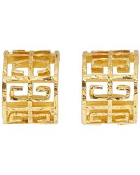 Givenchy - Gold 4g Hoops - Lyst