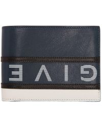 a81093f8103 Givenchy Eros Leather Zip Card Case in Blue for Men - Lyst