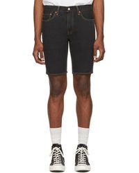 Levi's - Black Denim 511 Slim Shorts - Lyst