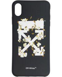 Off-White c/o Virgil Abloh ブラック コットン アロー Iphone Xs Max ケース