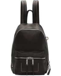 Rick Owens | Black Mini Backpack | Lyst