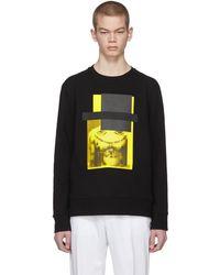 Neil Barrett | Black And Yellow Do Wrong To None, Trust A Few Sweatshirt | Lyst