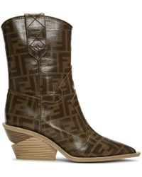 Fendi - Multicolour Forever Cowboy Boots - Lyst