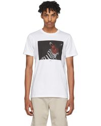 PS by Paul Smith - White Large Zebra Slim-fit T-shirt - Lyst