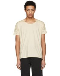 Jan Jan Van Essche - Beige Bio Cotton T-shirt - Lyst