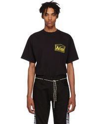 Aries - Black Logo Four Squares T-shirt - Lyst