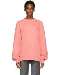 ADER error - Pink Basic Sweatshirt - Lyst